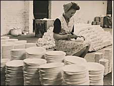 Bovey Pottery. Picture courtesy of Dartmoor Archive
