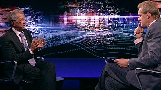 Sir David King talks to Stephen Sackur