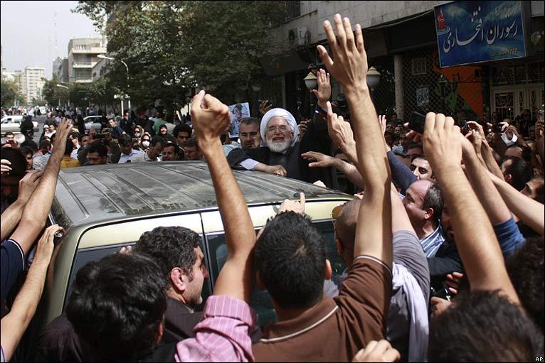 Mehdi Karroubi - Image Credit: AP
