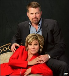 Kim Zimmer and Robert Newman from Guiding Light