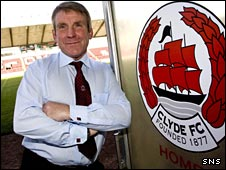 New Clyde manager John McCormack