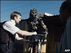 Handout still from Sony Pictures of District9