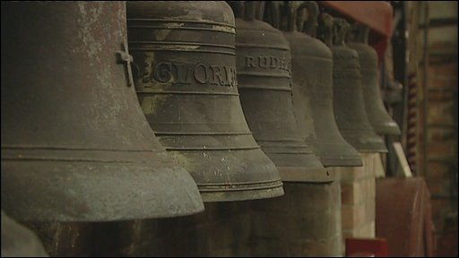 Bells at Leicesteshire foundry