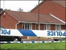 Scene of fatal shooting in Oldham