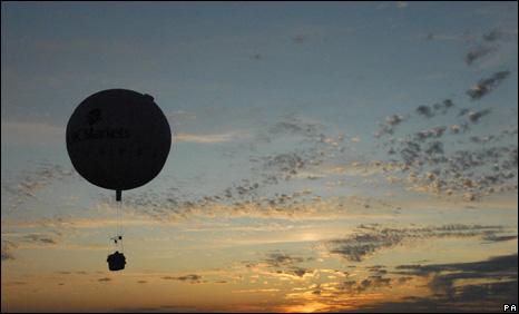 Balloon over US