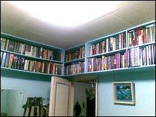 Peter Sandico's bookcases