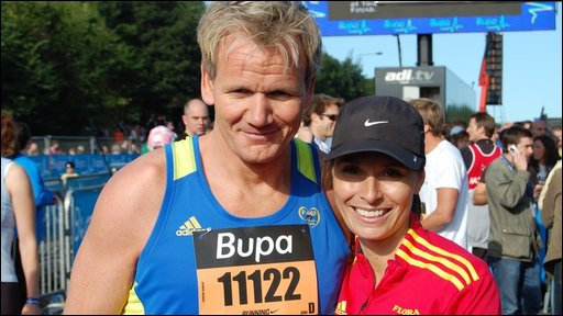 Gordon Ramsey and his wife Tana