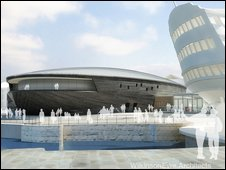 An artist's impression of the new £35m museum. Picture: Wilkinson Eyre Architects