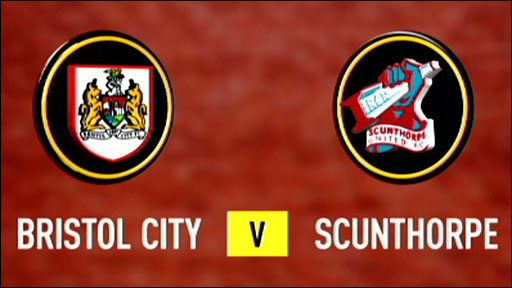 Bristol City 1-1 Scunthorpe