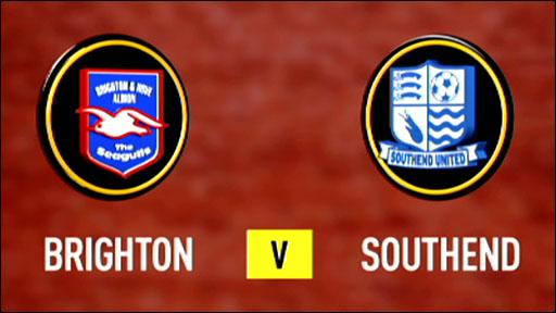 Brighton 2-3 Southend