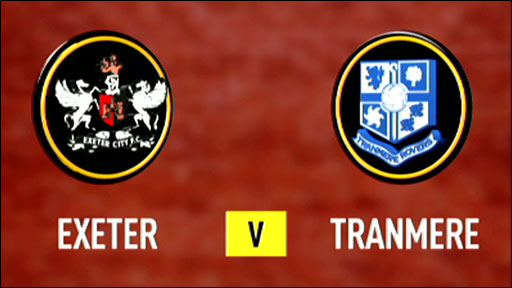 Exeter 2-1 Tranmere