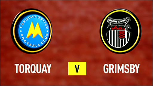 Torquay United v Grimsby Town