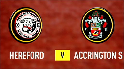 Hereford United v Accrington Stanley