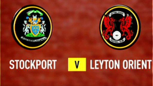 Highlights - Stockport 2-1 Leyton Orient