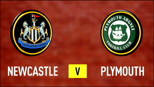 Newcastle United 3-1 Plymouth Argyle