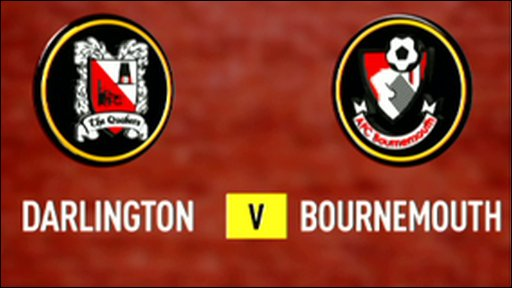 Highlights - Darlington 0-2 Bournemouth