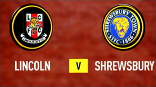 Highlights - Lincoln 0-2 Shrewsbury