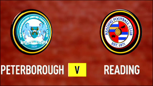 Peterborough United 3-2 Reading