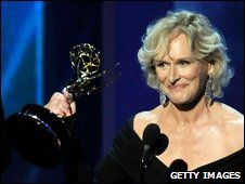 Glenn Close at the Emmy Awards in Los Angeles, 20 September 2009
