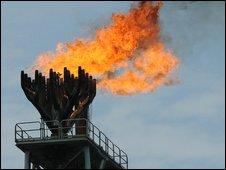 Total oil platform