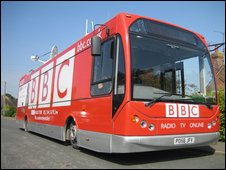 BBC Radio York bus