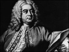 A portrait of George Frideric Handel