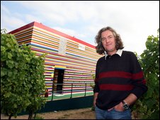 James May and his lego house