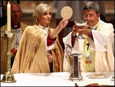 """The Right Reverend Kay Goldsworthy,  Australia""""s first Anglican bishop"""