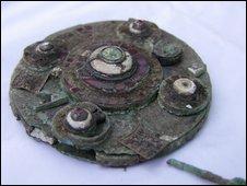 7th Century brooch
