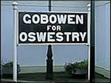 The old Gobeowen sign