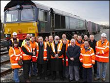 Telford's new rail freight terminal