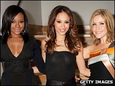 Sugababes. Keisha Buchanan, pictured left.