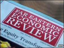 The monthly Far Eastern Economic Review