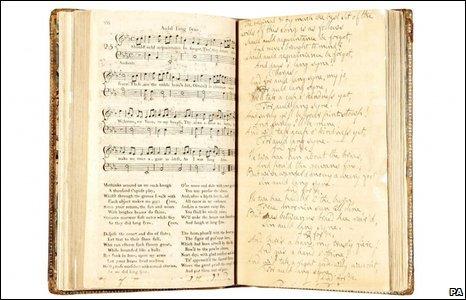 Auld Lang Syne manuscript