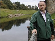 Steve Moore, the Environment Agency's Regional Strategy Manager in the North West