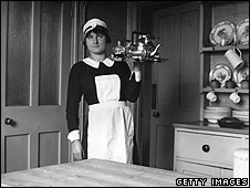 A housekeeper