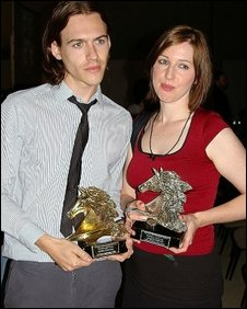 Kerry Anne Mullaney and Kris Bird
