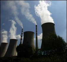 Thermal power plant in Jilin province, China - file photo