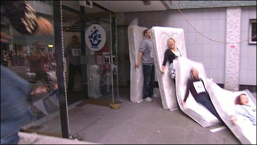 mattress dominoes