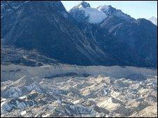 Glacier in Nepal