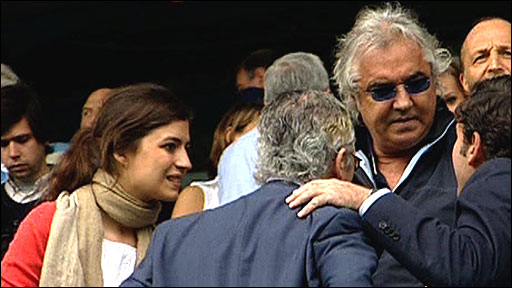 Flavio Briatore at Loftus Road