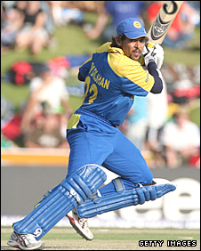 Tillakaratne Dilshan hammers a four behind square