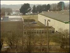 The former Ferodo site at Caernarfon, Gwynedd, which was previously rejected as a location for a prison