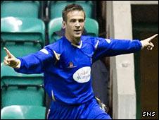 St Johnstone midfielder Christopher Millar