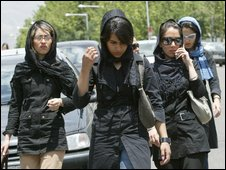 Iranian women - file photo