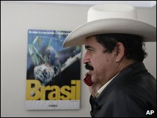 Manuel Zelaya 21.9.09