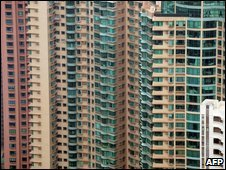 Highrise residential property in Hong Kong