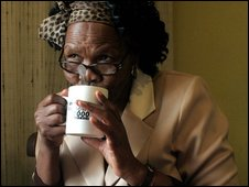 Eudy Simelane's mother Mally