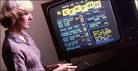 Ceefax viewer