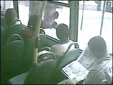 CCTV on a bus